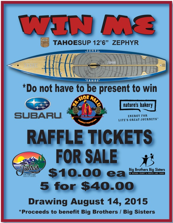 Jake's Raffle Flyer 2016